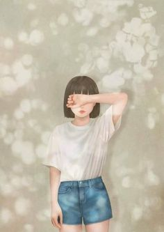 We hope artworks on Grafolio will function beyond that of a simple portfolio and garner respect as a culture which can be enjoyed by everyone�� Illustration Girl, Character Illustration, Digital Illustration, Girl Cartoon, Cartoon Art, Cover Wattpad, Girly Drawings, Tumblr Art, Dibujos Cute