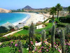 Playa Blanca, balneario cercano a la ciudad de La Serena.