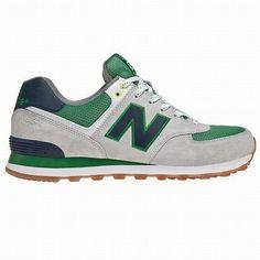 Joes New Balance 574 WL574YCG lovers Green White Grey Yacht Club Womens  Shoes Green New Balance a26f82d35ff