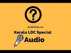 LDC Special - Part - 10 (National Highways in Kerala)