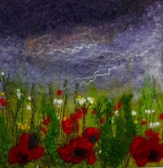 """""""Stormy Meadow"""" SOLD - Threlfall's Art Studio 