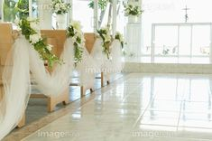 If you are planning a church wedding then you are thinking about church pew wedding decorations that will match your colors and/or them. Simple Church Wedding, Church Wedding Flowers, Wedding Pews, Chapel Wedding, Rustic Wedding, Church Pew Wedding Decorations, Perfect Day, Christmas Wedding, Marie