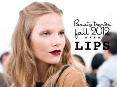 Lovely lips for the fall...