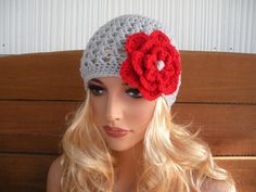 Crochet Hat Womens Hat Winter Fashion by creationsbyellyn on Etsy, $15.50