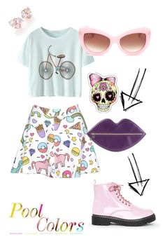 """Chiclets !"" by invisible9988 ❤ liked on Polyvore featuring Missguided, Wildfox, Charlotte Olympia, Ippolita, polyvoreeditorial, PolyvoreWishlist, yoinscollection and justlivedesign"