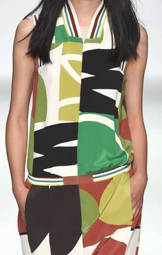 patternprints journal: PRINTS, PATTERNS AND SURFACES FROM LONDON FASHION WEEK (WOMAN COLLECTIONS SPRING/SUMMER 2015)