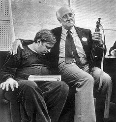 Rostropovich with a Kalashnikov