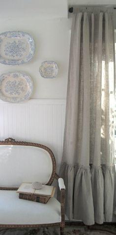 Martes Tendencia: LINO. Sillones, almohadones, cortinas, manteles... hasta lámparas! Visitá www.generosdelsur.com.ar, y conocé todas las variedades y colores en linos 100% de Géneros del Sur.