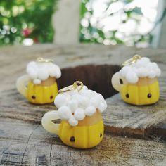 Beer charm by PocketFullofCharms on Etsy - Polymer Clay Charms - Charms