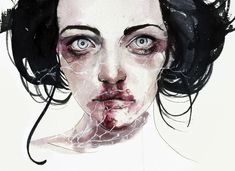 The Italian artist Silvia Pelissero, better known as agnes-cecile, primarily creates emotionally evocative watercolor paintings. Though completing some art classes while in high school, Pelissero … Watercolor Portraits, Watercolor And Ink, Watercolor Paintings, Watercolors, Agnes Cecile, Psy Art, Pablo Picasso, Traditional Art, Art Inspo
