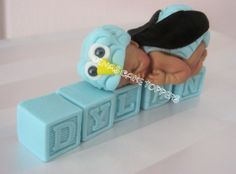OWL CAKE TOPPER Baby Shower Cake Topper by DinasCakeToppers, $35.00