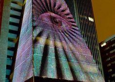 Edifício da Fiesp recebe projeções de diversos artistas durante o mês de dezembro / São Paulo – SP