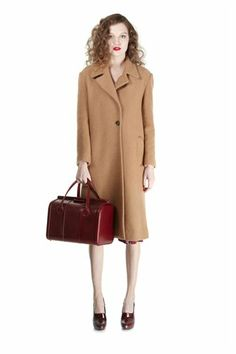 Rex Sweater Coat - Marc Jacobs I think I just got cold.. Need that!!! Classic Look. Nice!