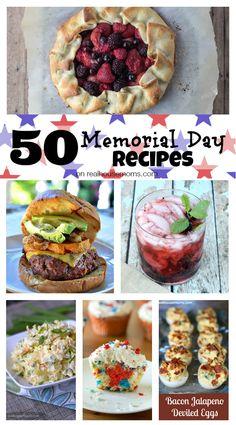 50 Memorial Day Recipes | Real Housemoms | #MemorialDay #Recipes #Roundup