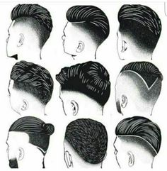 Man personality depend on his hair .  #hairshapes #haircuts #hairshapes #high standard