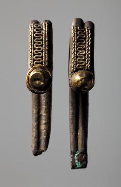 Hægter. Etruskiske Etruscan Silver, gold, remains of bronze