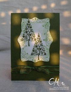 Caros Bastelbude: Weihnachtskarte