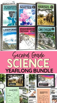 Science Curriculum, Science Lessons, Teaching Science, Science For Kids, Second Grade Science, Teaching Second Grade, Second Grade Teacher, Science Activities, Writing Activities