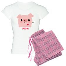 Kawaii I Love Pigs Pajamas