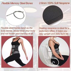 Neoprene Sauna Waist Trainer Corset Sweat Belt for Women Weight Loss Compression Trimmer Workout Fitness Sweat Belt, Waist Trainer Corset, Waist Cincher, Weight Loss For Women, Belts For Women, No Equipment Workout, Fun Workouts, Trainers, Shapewear