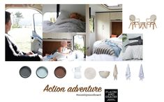 Our monthly mood-board, inspired by a holiday in the Action Everland motorhome by