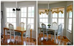 kitchen table before and after | Flickr - Photo Sharing!