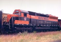 """Great Northern """"Hustle Muscle"""" EMD SD45."""