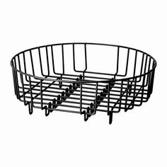 Verdi Heavy Duty Stainless Steel Dia Round 2 in 1 Dish Drainer/Rinsing Basket (Fit all most all Round/Rectangular Domestic & Commercial Sinks) (Black) Commercial Sink, Sink Basket, Dish Drainers, Home Storage Solutions, Food Storage Containers, Smart Home, Stainless Steel, Dishes, Amazon