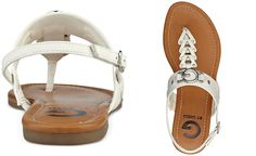 G by GUESS Liberty T-Strap Sandals - Juniors' Shoes - Shoes - Macy's