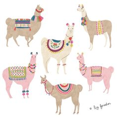 Image may contain: dog Alpacas, Cute Illustration, Digital Illustration, Wale, Pretty Art, Illustrations Posters, Watercolor Paintings, Art Projects, Character Design