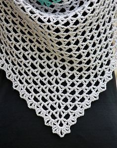 Ravelry: Almost a Granny Triangle Scarf pattern by Mikaela Bates
