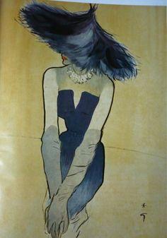 rene gruau - Christian Dior