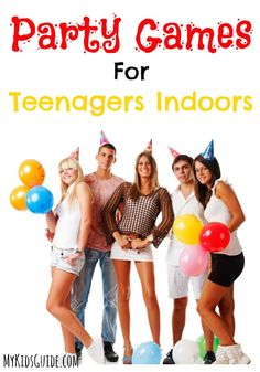 Weather forecast calling for rain on your party day? No worries! Check out these awesome DIY party games for teenagers indoors & keep the party going!