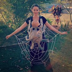 Tall Mom tiny baby: Halloween Costumes For Families With A Baby