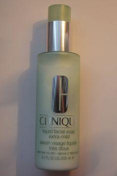 Caroline Hirons: Clinique Liquid Facial Soap (extra mild!)  Second cleanse