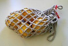 Free Crocheted Produce Bag Pattern