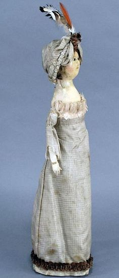 English Regency Wooden Doll (undated)