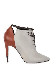 Pierre Hardy Tri-colour leather ankle boots