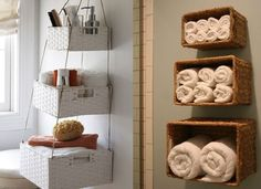Bathroom storage apartment-decor