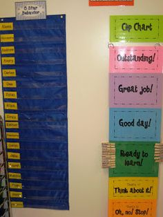 This picture is of my clip chart and 5 star behavior board. Everyone who ends the day on green or above gets a star. Anyone who ends up off the chart (past outstanding) gets 2 stars. Once they have earned 5 stars, they can choose a treasure from the treasure box. behavior rewards, star behavior, school, classroom photo, behavior charts, clip chart, treasure boxes, behavior plans, blog