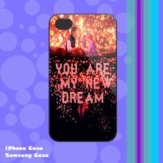 Disney Tangled Quotes You Are My New Dream iphone by tripleblended, $16.88