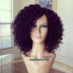 We offer 100% Deep Curly Virgin Malaysian Wave Wefts with Closure   ~~~~~~~~~~~~~~~~~~~~~~~~~~~~~~~~~~~~~~~~~~~~~~~~~~~~~~~~~~  Cap Construction: We use Dome Caps, are ventilated quality wig cap with adjustable straps. Hand sewn using the fold over method. You can shift the unit from middle or si...
