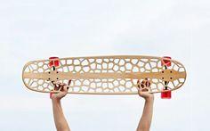 Skateboard deck by Voronoi Skateboard Organico