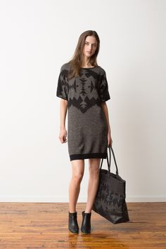 Deer Island Dress + Canyonville Tote