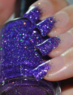 Bright <3 Purple <3 Glitter