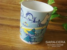 ムーミン マグカップ summer(夏) Four Seasons of Moominvalley :B0001608:お気に入り食器 サラセラジャパン… Japan, Mugs, My Favorite Things, Tableware, How To Make, Dinnerware, Tumblers, Tablewares, Mug