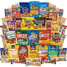 Ultimate Snacks Cookies Chips Crackers Candies Nuts  More Variety Pack Assortment 45 Count *** Continue to the product at the image link.