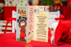 A Mãe Amiga Ka Maximiano criou uma festa bem personalizada para os 4 aninhos da Kyara: festa de aniversário Turma da Mônica ou Parque da Turma da Kyka