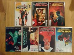 International Iron Man Complete (7 Comics)