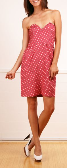 Alice by Temperley red polka dot dress